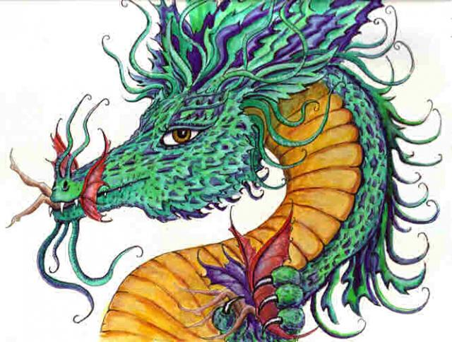 """Dragon art"" ""Fairy eating Dragon"" ""Beauty and the beast"" fairy dragon ""Green dragon"""