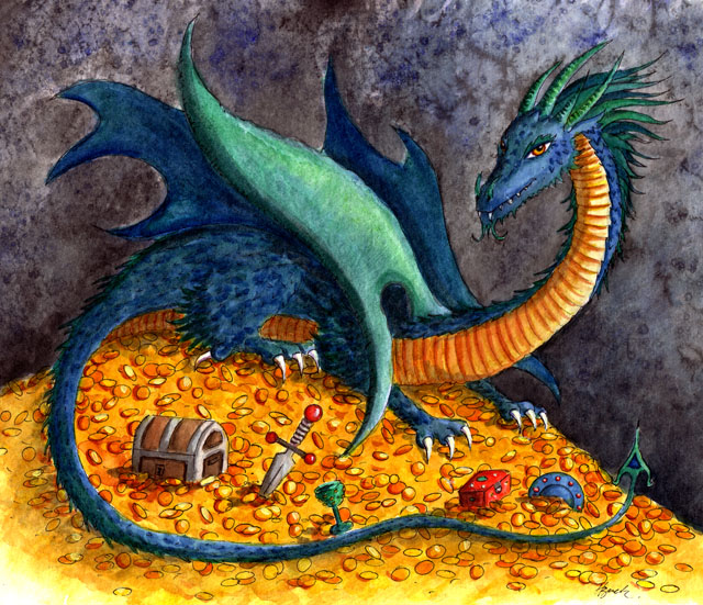 Treasure Dragon Hbdragon The Dragons Of Heidi Buck