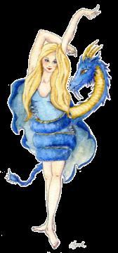 """""""Dragon art"""" """"Dragon girl"""" """"girl with dragon""""""""Dragon Dancer"""" A dragon dances with a girl"""