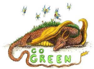 """Dragon art"" ""Green Dragon"" ""Go Green"" fairy fairies dragon"