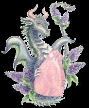 Rose Quartz Lilac Dragon HBdragon