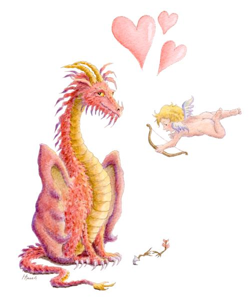 Valentine's Day Dragon